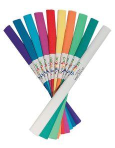 Креп хартия Gimboo, 50x200cm, асорти цветове