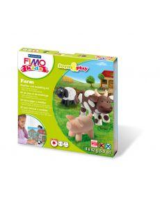 Комплект глина Staedtler Fimo Kids, 4x42g, Farm