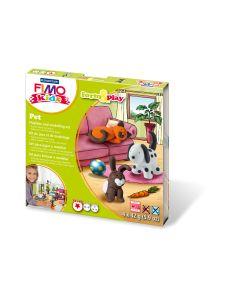 Комплект глина Staedtler Fimo Kids, 4x42g, Pet