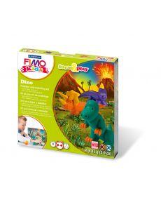 Комплект глина Staedtler Fimo Kids, 4x42g, Dino