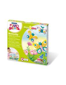 Комплект глина Staedtler Fimo Kids, 4x42g, Butterfly