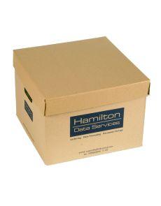 Архивен кашон Hamilton с капак, 33x34x24,5 cm