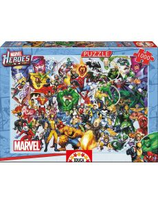 1000 COLLAGE OF MARVEL HEROES