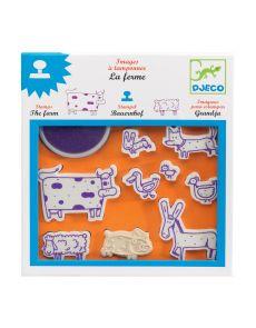 Детски печати Djeco - Farm