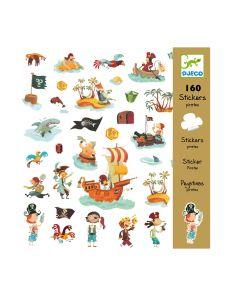 Детски стикери Djeco - Pirates