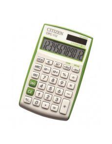 Настолен калкулатор Citizen Vivid CPC 112, зелен