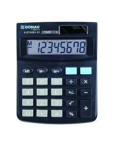 Настолен калкулатор Donau Tech, 8 разряда, черен