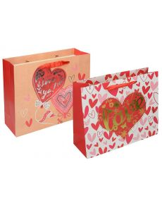 Подаръчна торбичка Deluxe L Valentine, 42x31x10cm