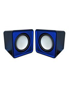 Тонколони Omega OG01, USB, 2x3W, сини