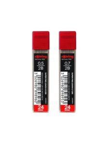 Графити Rotring Super Fine за Автоматичен молив, 0,7 2B