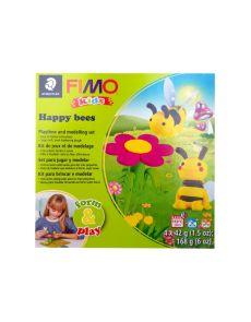 К-кт глина Staedtler Fimo Kids, 4x42g, Happy Bees