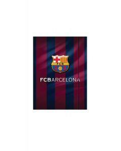 Папка с ластик FC Barcelona А4, /17, картон 600g