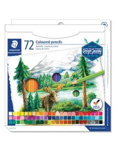 Цветни моливи Staedtler Design Journey, 72 цвята