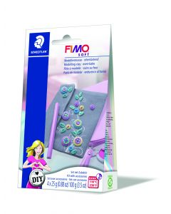 Комплект глина Fimo Soft Bag,4x25g