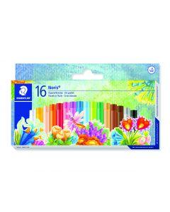 Маслени пастели Staedtler NC 241, 16 цвята