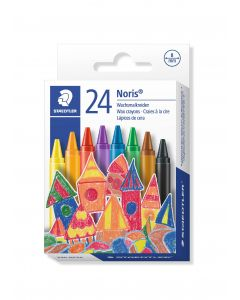 Пастели Staedtler Noris Club 220, 24 цвята