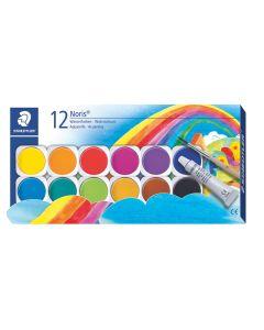 Акварелни боички Staedtler NC 888,12 цвята в кутия