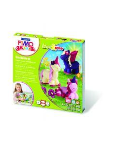 Комплект глина Staedtler Fimo Kids, 4x42g, Unicorn