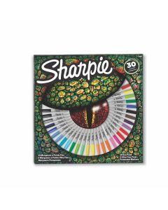 Комплект перманентни маркери Sharpie Crocodile eye, 30 бр