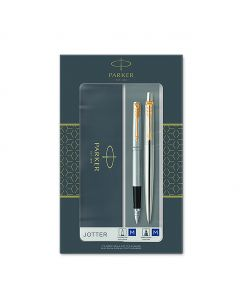 Комплект Parker Royal Jotter St.Steel GT, Химикалка и Писалка