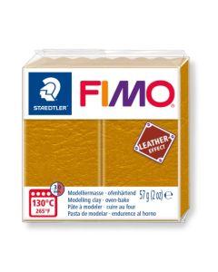 Пол. глина Fimo Leather 8010, 57g, охра 179