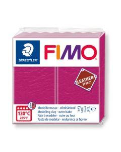 Пол. глина Fimo Leather 8010, 57g, розов 229