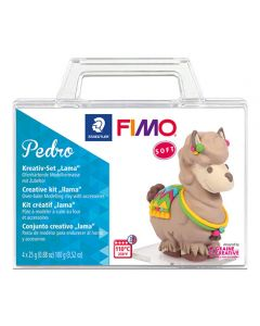 К-т глина Staedtler Fimo Soft, 4x25g, лама