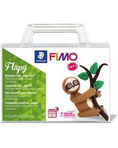 К-т глина Staedtler Fimo Soft, 4x25g, ленивец