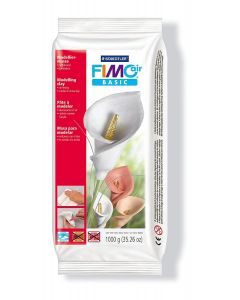 Глина Staedtler Fimo Air basic 8101, 1 kg, бял