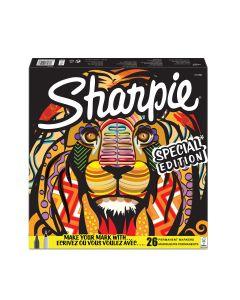 Комплект перманентни маркери Sharpie Lion, 26 броя